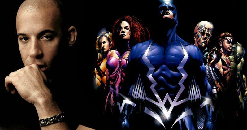 Inhumans TV Show Gets a Director, Vin Diesel Still Wants a Movie