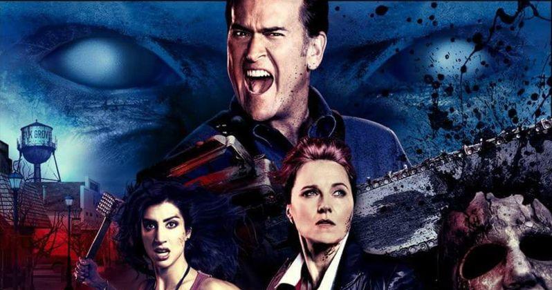 Watch the Ash Vs. Evil Dead Season 2 Trailer Banned by Comic-Con