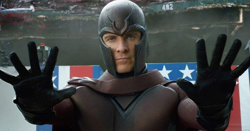 X-Men: Days of Future Past: Magneto's Helmet and Wardrobe Featurettes