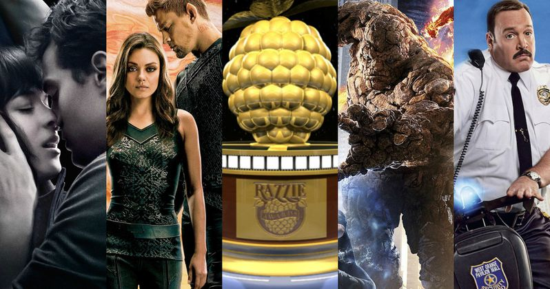 2016 Razzie Awards Nominations Are Here