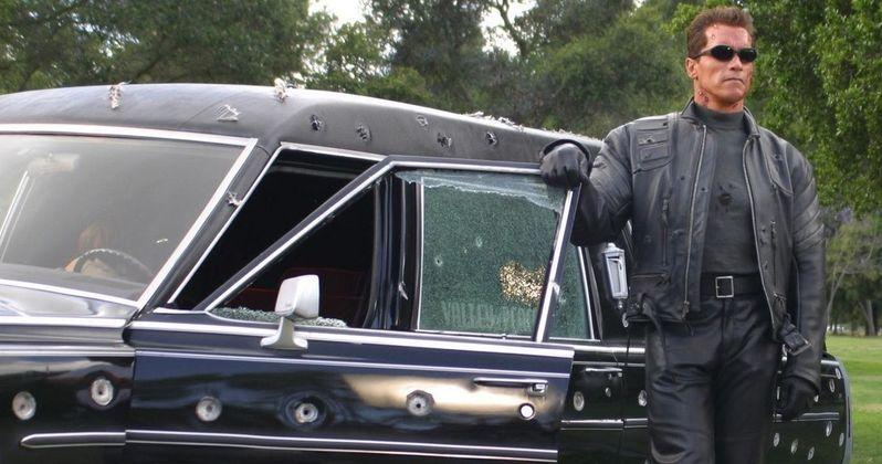 New Terminator Set Photos Offer a Close-Up Look at Arnold Schwarzenegger