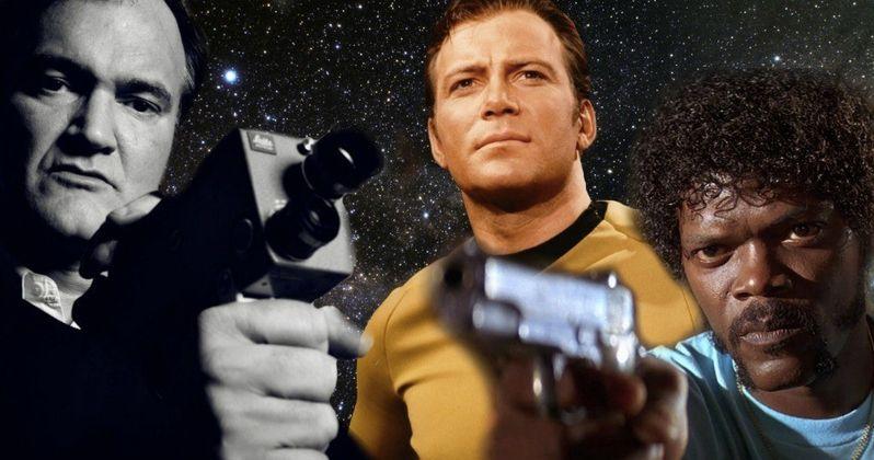 Tarantino's Star Trek Movie Will Be R-Rated