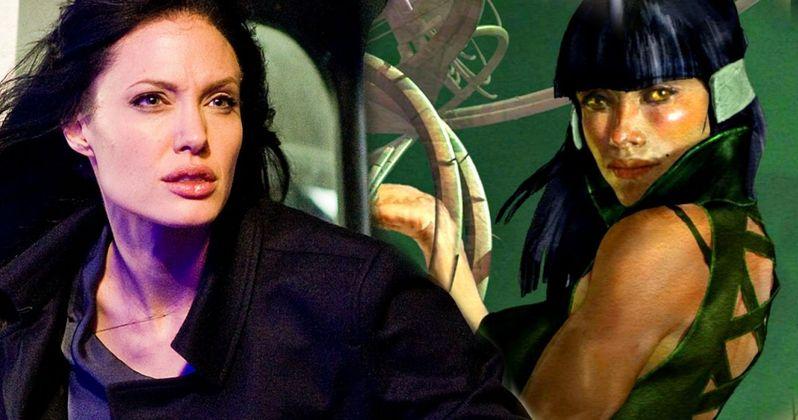 Angelina Jolie to Make Marvel Superhero Debut in The Eternals?