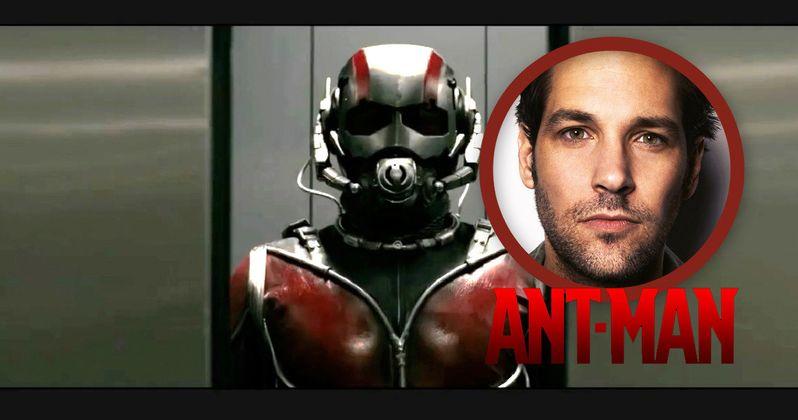 Paul Rudd Is Ant-Man!