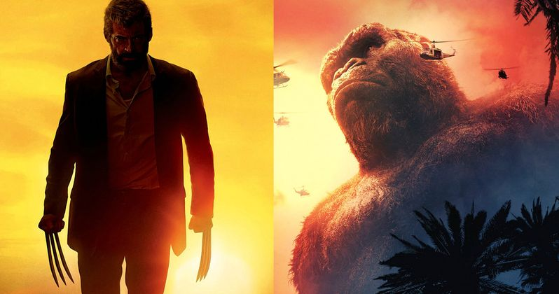 Will Kong: Skull Island Demolish Logan at the Box Office?
