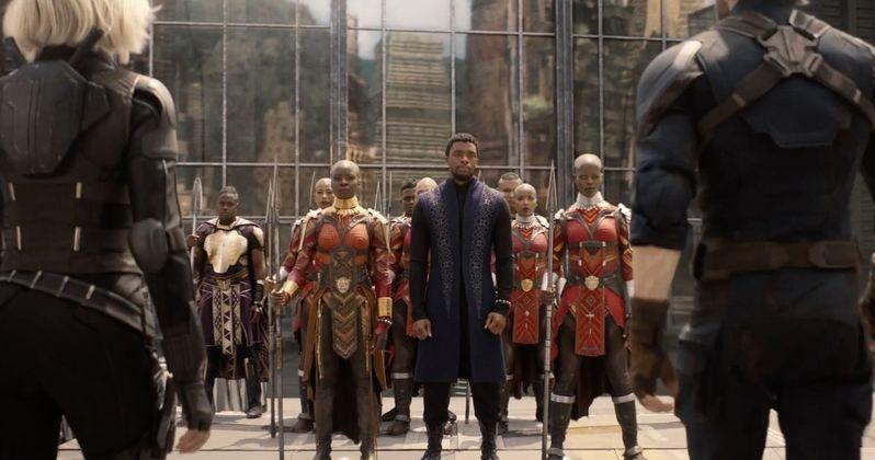Wakanda Is Ready to Fight in Latest Infinity War Sneak Peek