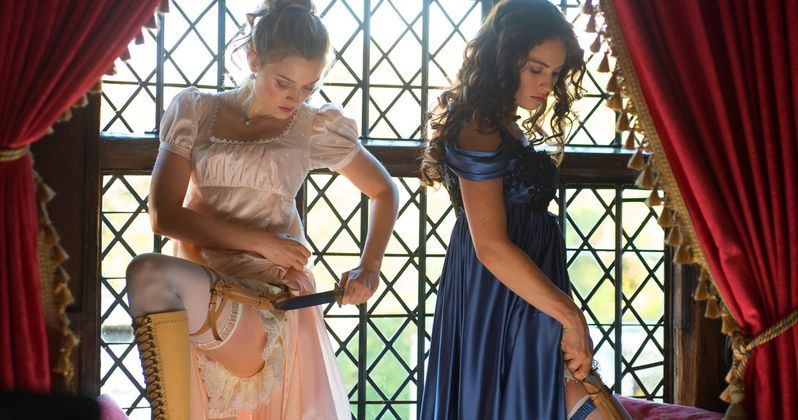 First Pride & Prejudice & Zombies TV Spot Rewrites History in Blood