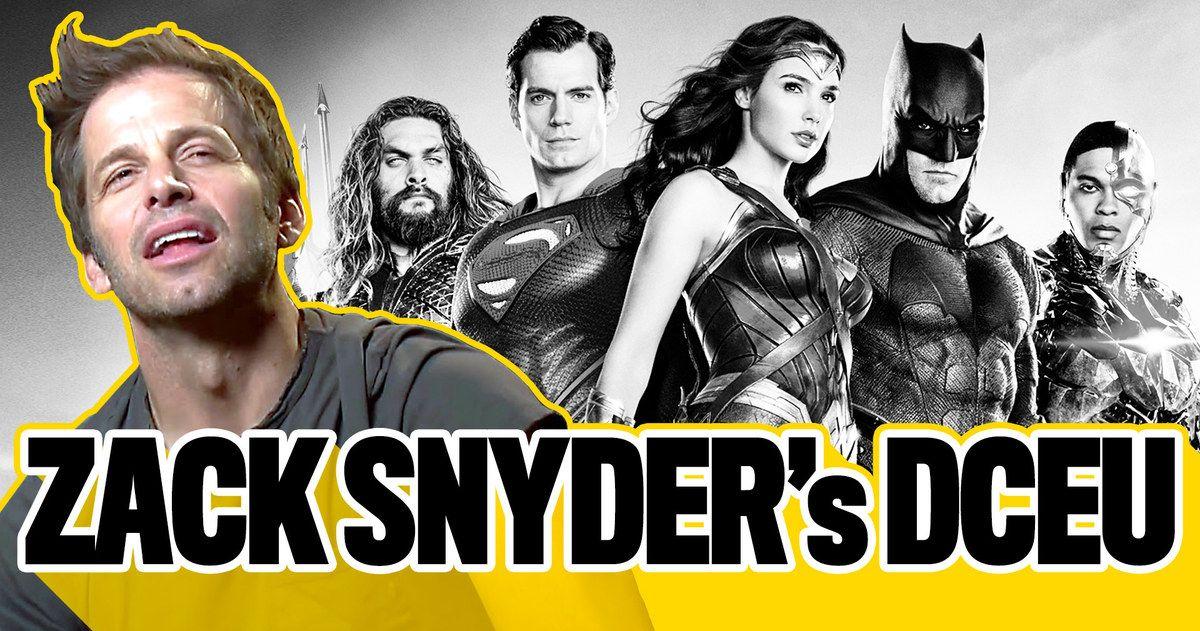 Zack Snyder's Original DCEU Plans