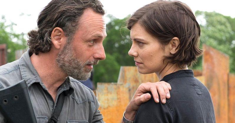 First Walking Dead Season 8 Photo Has Rick & Maggie Ready for War