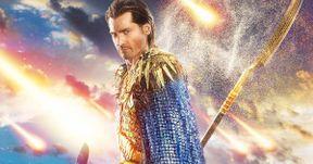 Gods of Egypt Preview Examines Horus' Costume | EXCLUSIVE