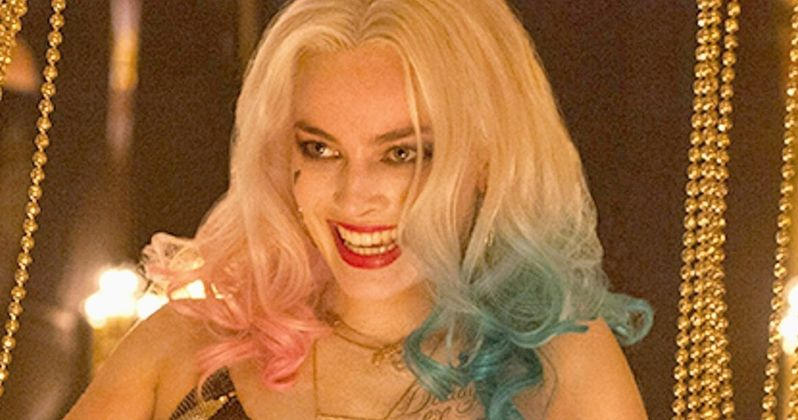 First Look at Harley Quinn's Jester Costume in Suicide Squad
