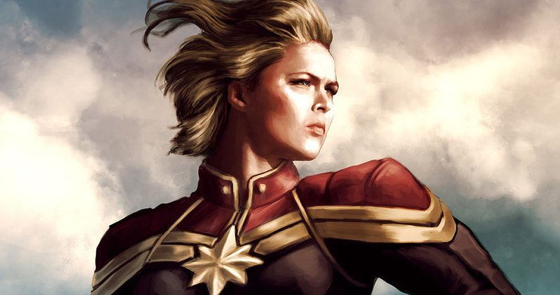 What Would Ronda Rousey Look Like as Captain Marvel?