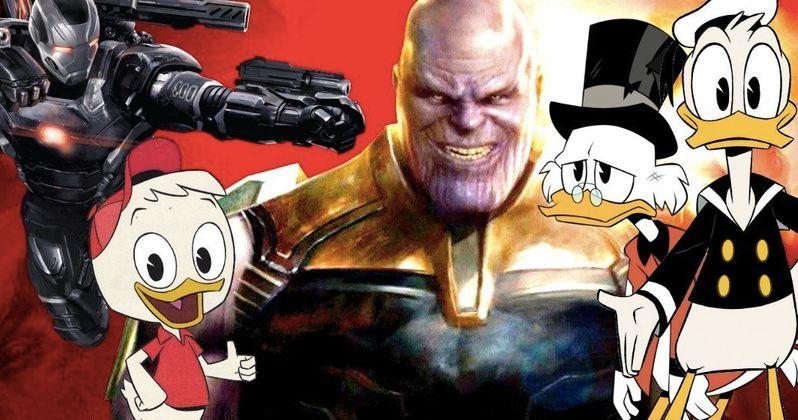 DuckTales Video Calls Out Don Cheadle as a Thanos Survivor