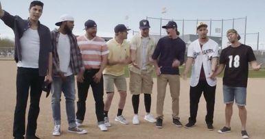 Milwaukee Brewers Recreate Iconic Sandlot Scene