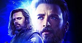 Early Infinity War Art Has a Different Look for Captain America & White Wolf