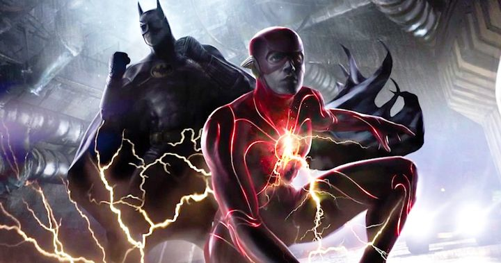 The Flash Movie Concept Art Reveals Michael Keaton's Batman and ...