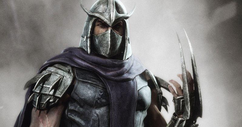 William Fichtner Talks Shredder and Ninja Turtles 2 | EXCLUSIVE