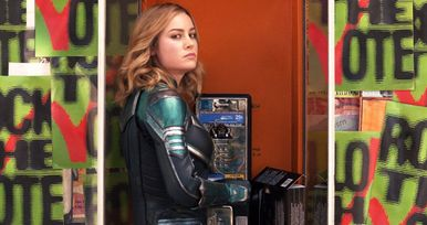 Latest Captain Marvel Photo Accidentally Points Fans to Adult Hotline