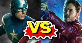 Captain America Vs. Star-Lord: Chris Pratt Knows Who Wins