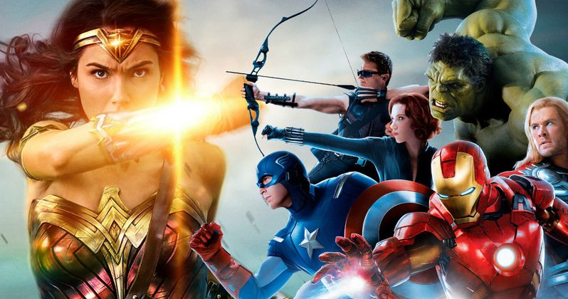 Marvel Movie Stars Champion Success of DC's Wonder Woman