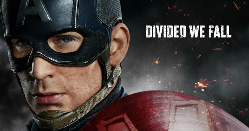 3 Civil War Posters Show Captain America & Iron Man Divided
