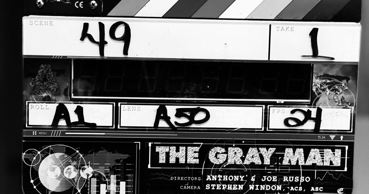 The Gray Man Production Start