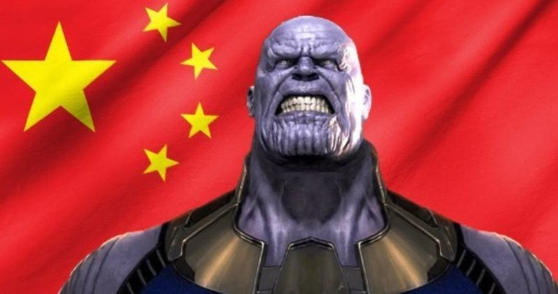 Infinity War Sets New Pre-Sales Record in China