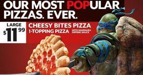 Teenage Mutant Ninja Turtles Pizza Hut TV Spot and Promo Art