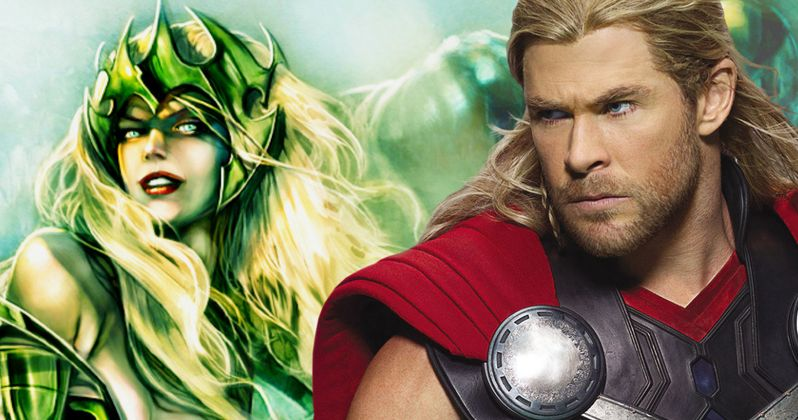 Thor 3 to Include a Female Villain, Is It Amora the Enchantress?
