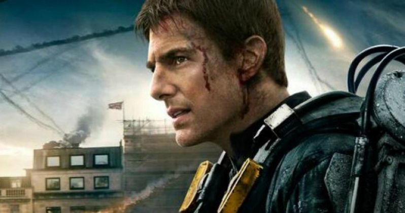 Edge of Tomorrow Tom Cruise Character Banner