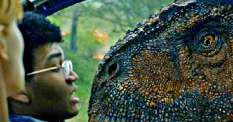 Carnotaurus Attacks in Thrilling New Look at Jurassic World 2