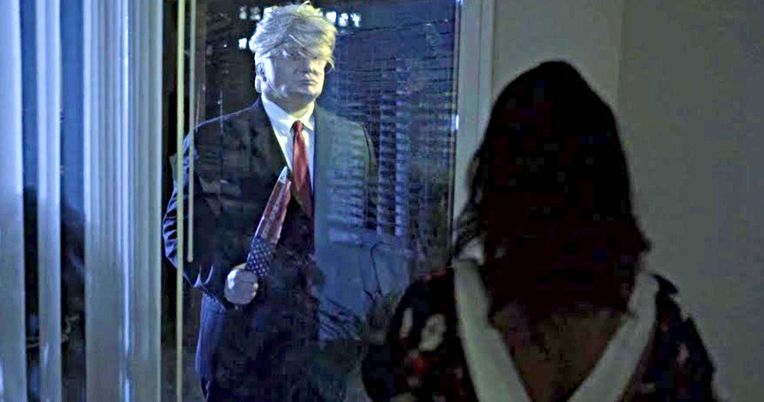 Michael Myers Becomes Trump in Halloween Spoof Trailer President Evil