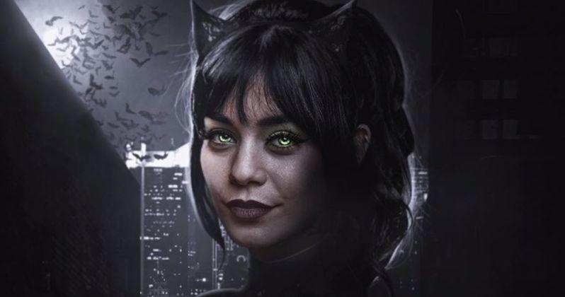 The Batman Fan Art Turns Vanessa Hudgens Into One Killer Catwoman