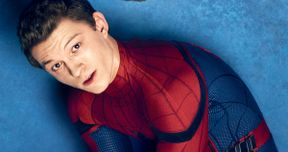 Tom Holland Is All Smiles in Latest Spider-Man: Far from Home Set Photos