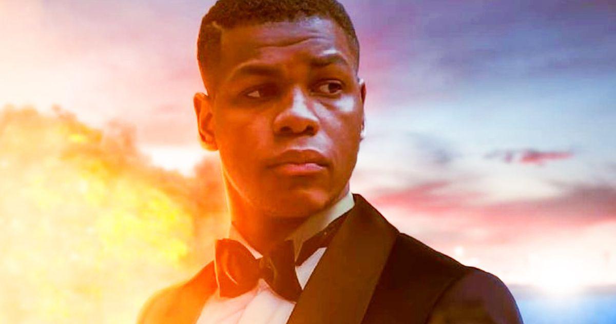John Boyega Is the New James Bond in 007 Fan Art