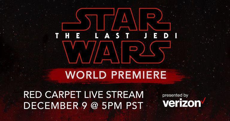 Watch Star Wars: The Last Jedi Red Carpet World Premiere Live Stream