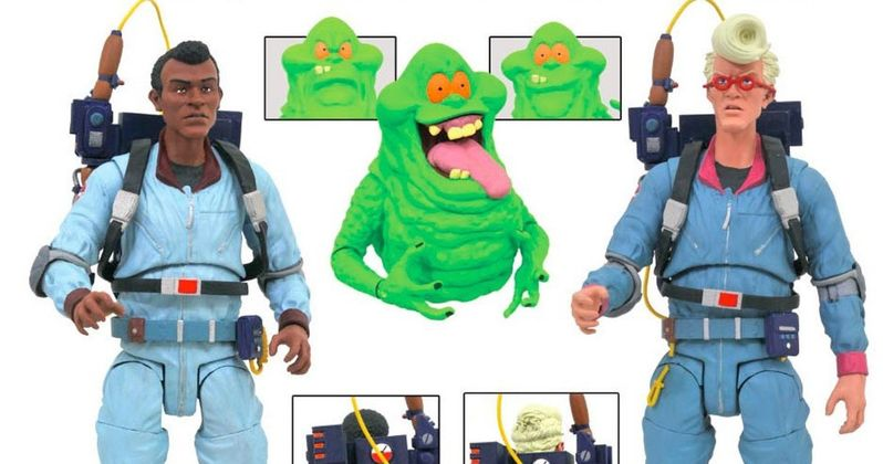 The Real Ghostbusters Get Insane New Action Figures in Late 2018