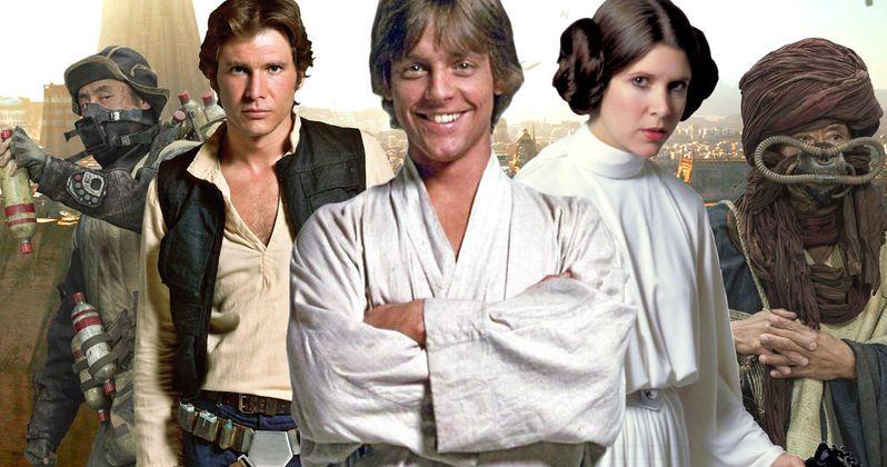 Luke, Han & Leia Head to Jedha in Rogue One Crossover Comic