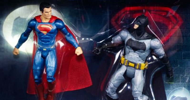 Batman v Superman & Wonder Woman Toys Unveiled for Comic Con