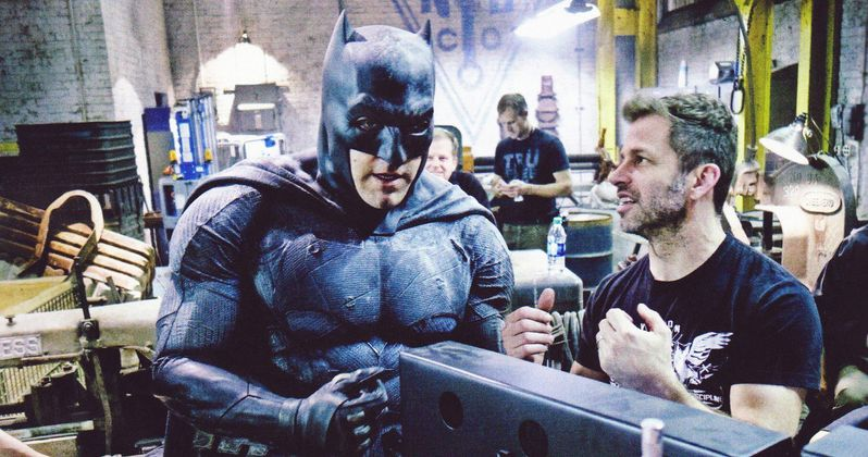 Ben Affleck Is Inspired to Reboot the Batman Franchise