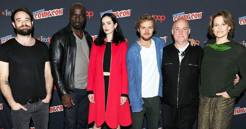 Watch Marvel's Defenders Unite Onstage at NYCC