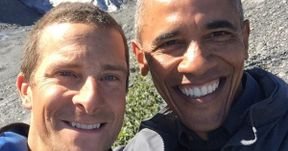 Watch President Obama Go Running Wild with Bear Grylls