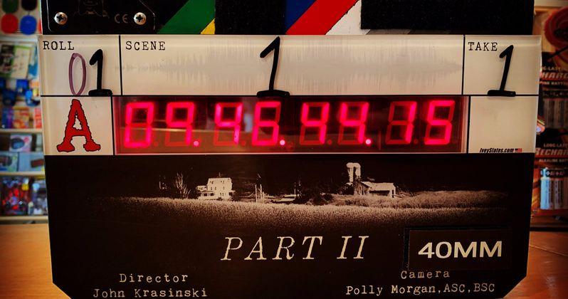 A Quiet Place 2 Begins Shooting, John Krasinski Shares First Set Photo