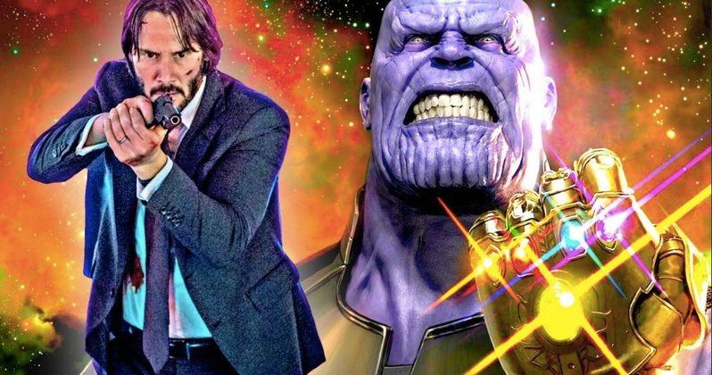 John Wick Vs Thanos In Avengers Infinity War Fan Made ic