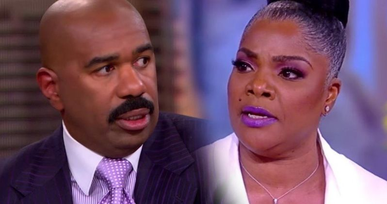 Irate Mo'Nique Threatens to Slap Steve Harvey During Live Studio Taping