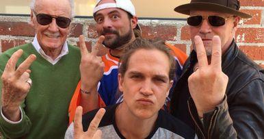 Mallrats 2 Photo Reunites Stan Lee, Michael Rooker, Jay & Silent Bob