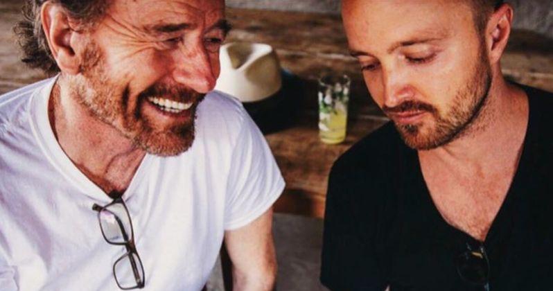 Bryan Cranston & Aaron Paul Weren't Teasing Breaking Bad Movie, So What Is It?