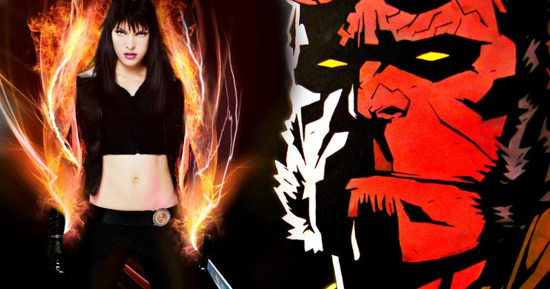 Milla Jovovich Is the Blood Queen in Hellboy Reboot