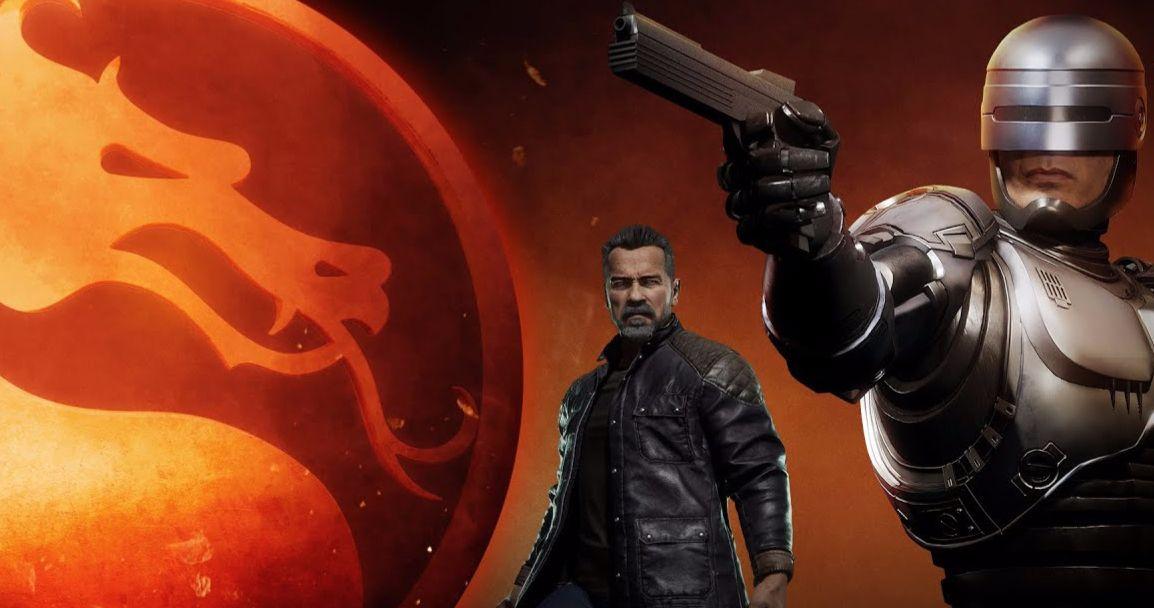 The Terminator Vs. Robocop in Epic New Mortal Kombat 11 Video Game Trailer