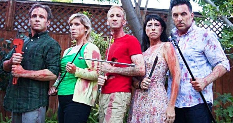 Garden Party Massacre Trailer Turns a Backyard Bash Into a Madcap Bloodbath